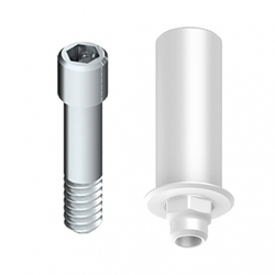 Calcinable Antirot. 5.0 con Tornillo Ti. Sist. 3i™ Certain®
