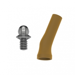 Calcinable BHS Angulado 20° Antirot. Con tornillo Ti. Multi-Unit